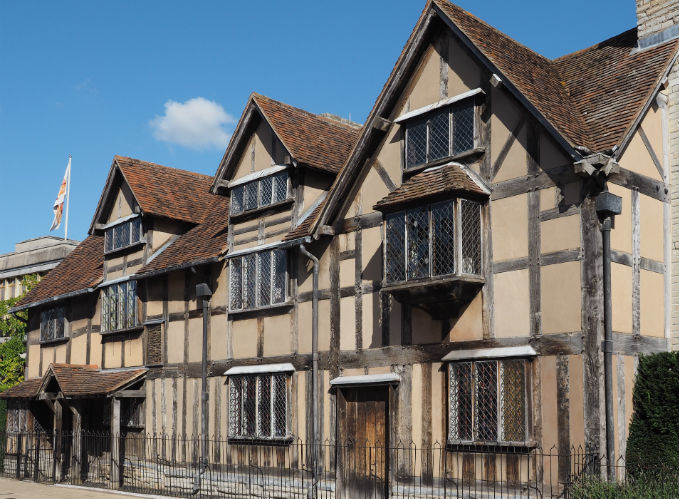 Οικία του William Shakespeare, Stratford-upon-Avon, Αγγλία