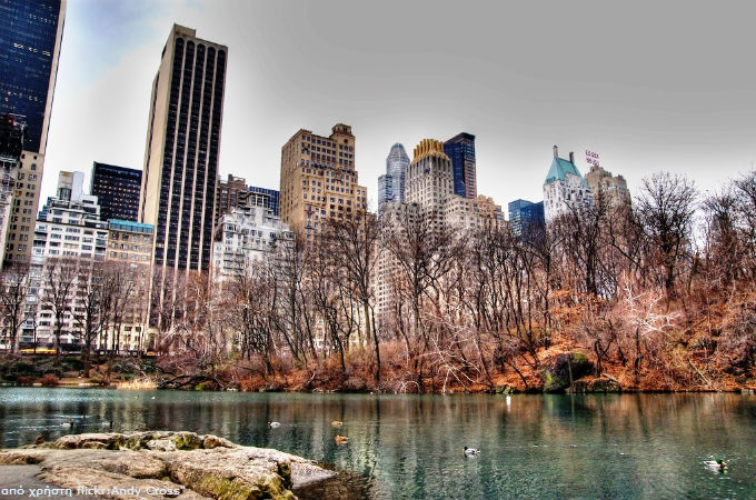 Central Park Lake Manhattan