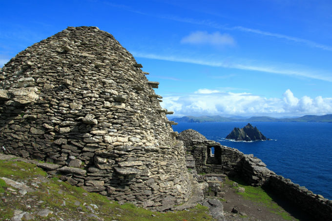 Star Wars Ahch-To/Skellig Michael, Ιρλανδία
