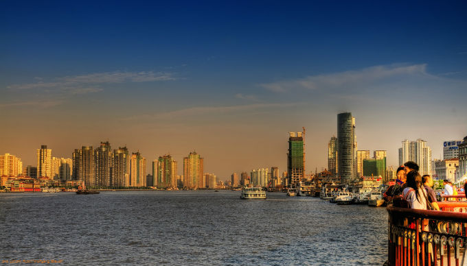 Skyline of Pudong - China